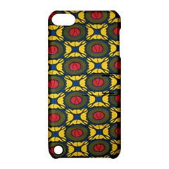 African Textiles Patterns Apple Ipod Touch 5 Hardshell Case With Stand by Mariart