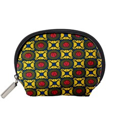 African Textiles Patterns Accessory Pouches (small)  by Mariart