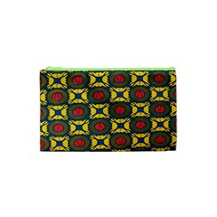African Textiles Patterns Cosmetic Bag (xs) by Mariart
