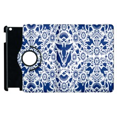 Birds Fish Flowers Floral Star Blue White Sexy Animals Beauty Apple Ipad 2 Flip 360 Case by Mariart