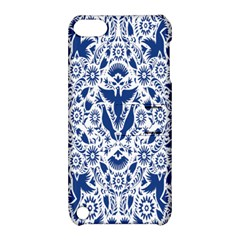 Birds Fish Flowers Floral Star Blue White Sexy Animals Beauty Apple Ipod Touch 5 Hardshell Case With Stand by Mariart