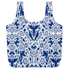Birds Fish Flowers Floral Star Blue White Sexy Animals Beauty Full Print Recycle Bags (l)  by Mariart
