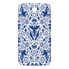 Birds Fish Flowers Floral Star Blue White Sexy Animals Beauty Samsung Galaxy Mega I9200 Hardshell Back Case by Mariart