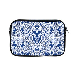 Birds Fish Flowers Floral Star Blue White Sexy Animals Beauty Apple Macbook Pro 13  Zipper Case by Mariart
