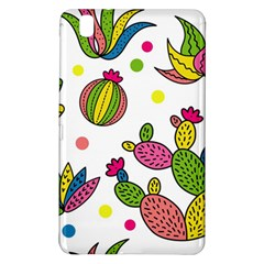 Cactus Seamless Pattern Background Polka Wave Rainbow Samsung Galaxy Tab Pro 8 4 Hardshell Case by Mariart
