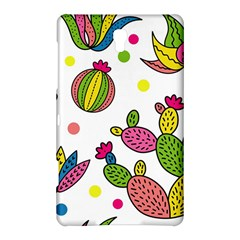 Cactus Seamless Pattern Background Polka Wave Rainbow Samsung Galaxy Tab S (8 4 ) Hardshell Case  by Mariart