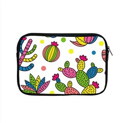 Cactus Seamless Pattern Background Polka Wave Rainbow Apple Macbook Pro 15  Zipper Case by Mariart