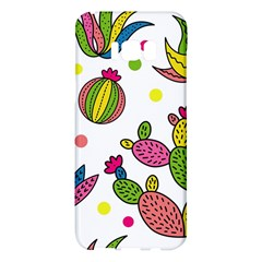 Cactus Seamless Pattern Background Polka Wave Rainbow Samsung Galaxy S8 Plus Hardshell Case  by Mariart
