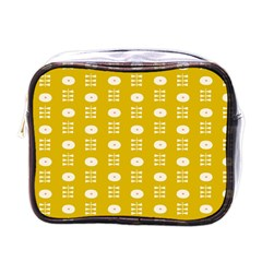 Circle Polka Chevron Orange Pink Spot Dots Mini Toiletries Bags by Mariart