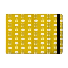 Circle Polka Chevron Orange Pink Spot Dots Apple Ipad Mini Flip Case by Mariart