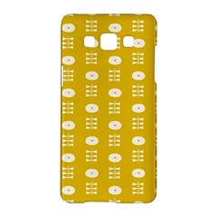 Circle Polka Chevron Orange Pink Spot Dots Samsung Galaxy A5 Hardshell Case  by Mariart