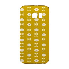 Circle Polka Chevron Orange Pink Spot Dots Galaxy S6 Edge by Mariart