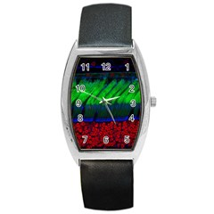 Cells Rainbow Barrel Style Metal Watch by Mariart