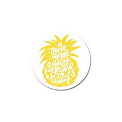 Cute Pineapple Yellow Fruite Golf Ball Marker (10 Pack) by Mariart
