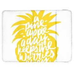 Cute Pineapple Yellow Fruite Samsung Galaxy Tab 7  P1000 Flip Case by Mariart