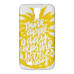 Cute Pineapple Yellow Fruite Samsung Galaxy Mega 6 3  I9200 Hardshell Case by Mariart