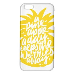 Cute Pineapple Yellow Fruite Iphone 6 Plus/6s Plus Tpu Case by Mariart
