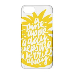 Cute Pineapple Yellow Fruite Apple Iphone 7 Hardshell Case by Mariart