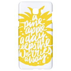 Cute Pineapple Yellow Fruite Samsung C9 Pro Hardshell Case  by Mariart