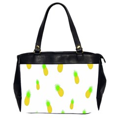 Cute Pineapple Fruite Yellow Green Office Handbags (2 Sides)  by Mariart