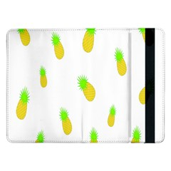 Cute Pineapple Fruite Yellow Green Samsung Galaxy Tab Pro 12 2  Flip Case by Mariart