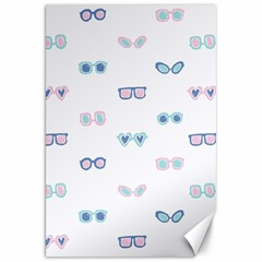 Cute Sexy Funny Sunglasses Kids Pink Blue Canvas 20  X 30