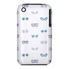 Cute Sexy Funny Sunglasses Kids Pink Blue Iphone 3s/3gs by Mariart