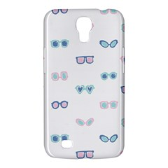 Cute Sexy Funny Sunglasses Kids Pink Blue Samsung Galaxy Mega 6 3  I9200 Hardshell Case
