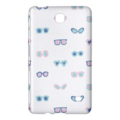 Cute Sexy Funny Sunglasses Kids Pink Blue Samsung Galaxy Tab 4 (8 ) Hardshell Case  by Mariart