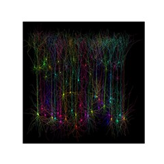 Brain Cell Dendrites Small Satin Scarf (square) by Mariart