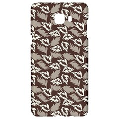 Dried Leaves Grey White Camuflage Summer Samsung C9 Pro Hardshell Case  by Mariart