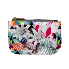 Flower Graphic Pattern Floral Mini Coin Purses by Mariart
