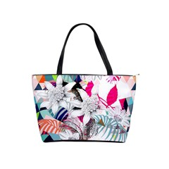 Flower Graphic Pattern Floral Shoulder Handbags