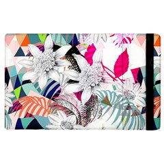 Flower Graphic Pattern Floral Apple Ipad 2 Flip Case by Mariart