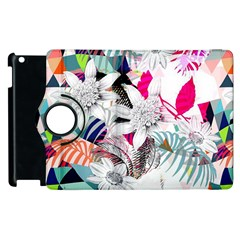 Flower Graphic Pattern Floral Apple Ipad 3/4 Flip 360 Case by Mariart