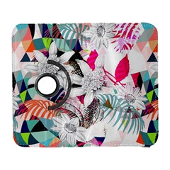 Flower Graphic Pattern Floral Galaxy S3 (flip/folio) by Mariart
