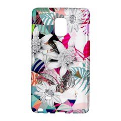 Flower Graphic Pattern Floral Galaxy Note Edge by Mariart