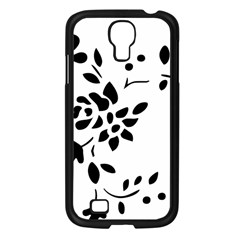 Flower Rose Black Sexy Samsung Galaxy S4 I9500/ I9505 Case (black) by Mariart