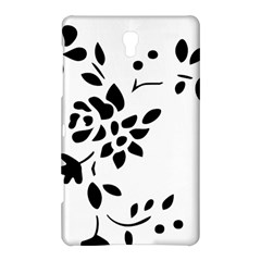Flower Rose Black Sexy Samsung Galaxy Tab S (8 4 ) Hardshell Case  by Mariart