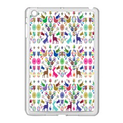 Birds Fish Flowers Floral Star Blue White Sexy Animals Beauty Rainbow Pink Purple Blue Green Orange Apple Ipad Mini Case (white) by Mariart