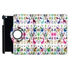 Birds Fish Flowers Floral Star Blue White Sexy Animals Beauty Rainbow Pink Purple Blue Green Orange Apple Ipad 2 Flip 360 Case by Mariart
