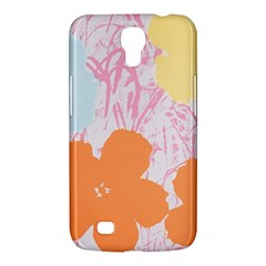 Flower Sunflower Floral Pink Orange Beauty Blue Yellow Samsung Galaxy Mega 6 3  I9200 Hardshell Case by Mariart