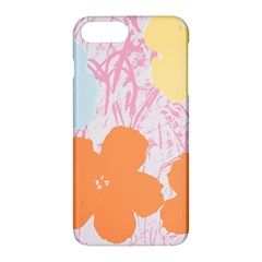 Flower Sunflower Floral Pink Orange Beauty Blue Yellow Apple Iphone 7 Plus Hardshell Case by Mariart
