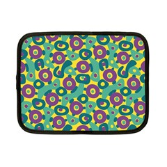 Discrete State Turing Pattern Polka Dots Green Purple Yellow Rainbow Sexy Beauty Netbook Case (small)  by Mariart