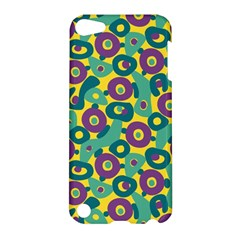 Discrete State Turing Pattern Polka Dots Green Purple Yellow Rainbow Sexy Beauty Apple Ipod Touch 5 Hardshell Case by Mariart