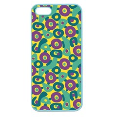 Discrete State Turing Pattern Polka Dots Green Purple Yellow Rainbow Sexy Beauty Apple Seamless Iphone 5 Case (color) by Mariart