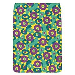 Discrete State Turing Pattern Polka Dots Green Purple Yellow Rainbow Sexy Beauty Flap Covers (l)  by Mariart