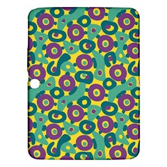 Discrete State Turing Pattern Polka Dots Green Purple Yellow Rainbow Sexy Beauty Samsung Galaxy Tab 3 (10 1 ) P5200 Hardshell Case  by Mariart