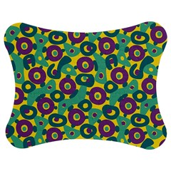 Discrete State Turing Pattern Polka Dots Green Purple Yellow Rainbow Sexy Beauty Jigsaw Puzzle Photo Stand (bow) by Mariart