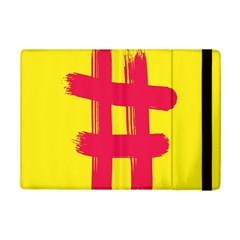 Fun Ain t Gone Fence Sign Red Yellow Flag Ipad Mini 2 Flip Cases by Mariart